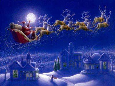 Filastrocca Delle Renne Di Babbo Natale