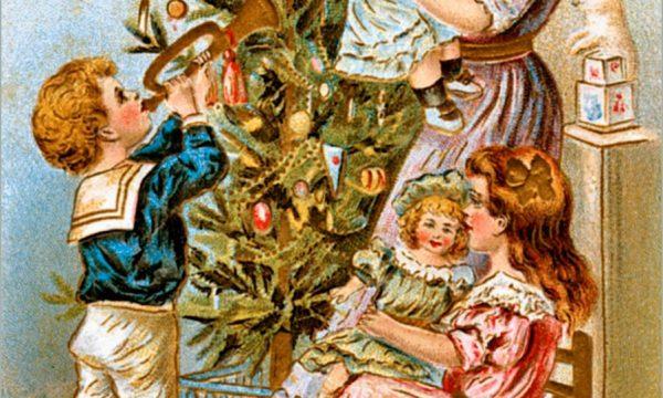 La storia e le origini delle Cartoline di Natale